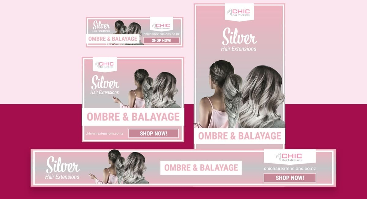 Chic Hair Display Ads 01